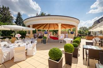 Ready for your event - our terrace