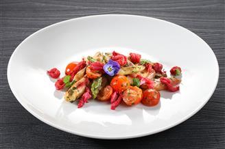 Asparagus salad at the Calla