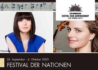 Festival der Nationen 2020 - Sonnenhof Programm